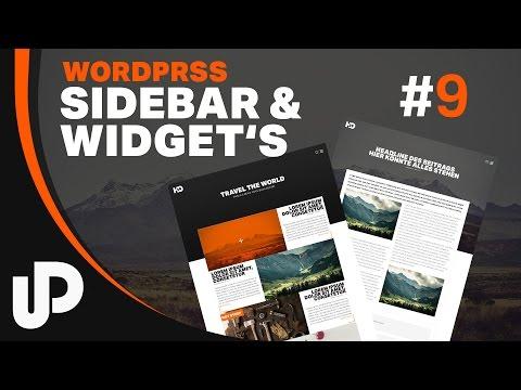 WordPress Widgets & Sidebar | Tutorial | #9