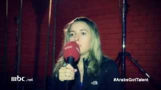 Arabs Got Talent - الاغنية الحصرية التي أدتها - جنيفر جراوت
