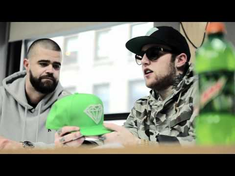 0 MacMiller x Diamond Supply Co x Mtn Dew Snapback