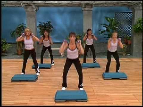Cathe Friedrich's Basic Step and Body Fusion (видео)