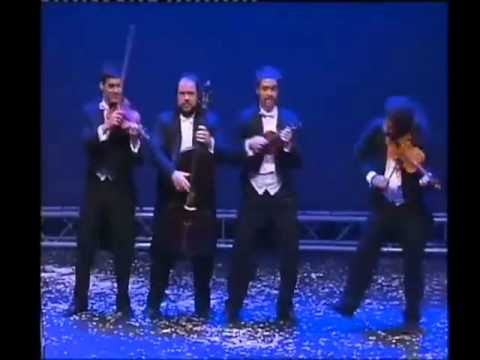 canon - Classical music comedy. Very funny! The group is called Pagagnini and they are from Spain. They start out with the Canon in D and then they play several vari...