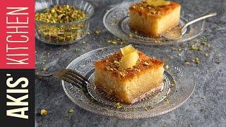 Sweet Semolina Cake (Ravani) | Akis Kitchen by Akis Kitchen