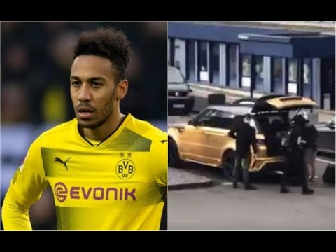 Arsenal News: Pierre-Emerick Aubameyang Arrives At Dortmund Airport Ahead Of Transfer