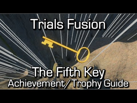 fifth - Trials Fusion - The Fifth Key Achievement/Trophy Guide - Use the Track Editor to find and pick up the 'Fifth Key' in the Fusion world Trials Fusion Playlist: http://www.youtube.com/playlist?list=P...