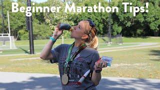 Video I'm Running My 1st Marathon!? My Beginner Tips So Far... MP3, 3GP, MP4, WEBM, AVI, FLV November 2018