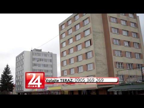 VIDEO: Skvelá ponuka, prerobený byt v centre Žiaru