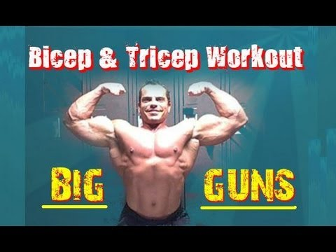 BICEP & TRICEP Dumbbell Super Set Workout