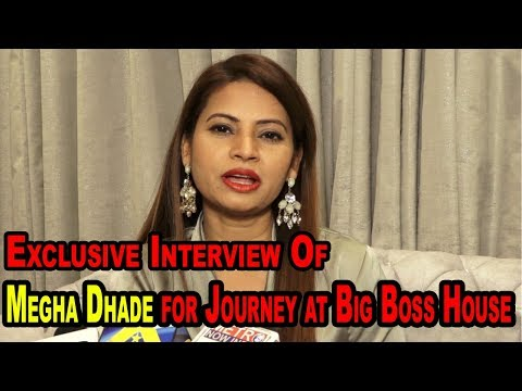 Exclusive Interview with Megha Dhade for Journey at Big Boss House
