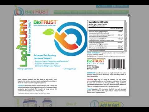 BioTrust Leptiburn Review – The Best Natural Weight Loss Supplement?