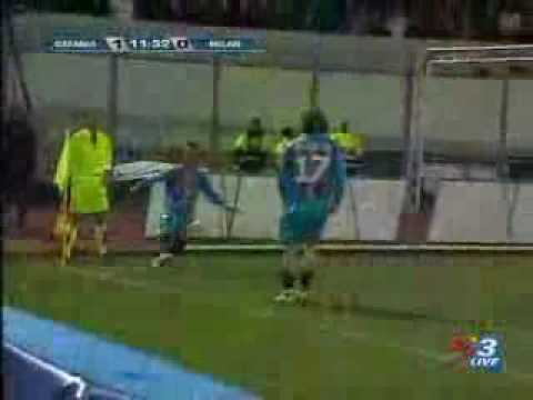 Golazo de Vargas - Catania 1 Miln 1
