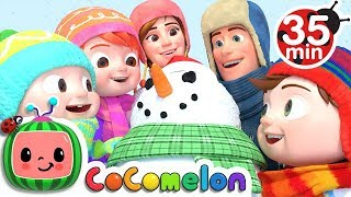 Winter Song (Fun in the Snow) | +More Nursery Rhymes & Kids Songs - CoCoMelon