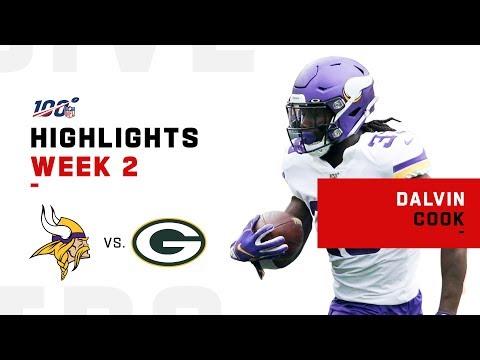 Dalvin Cook's MONSTER Game w/ 154 Yds & 1 TD   NFL 2019 Highlights