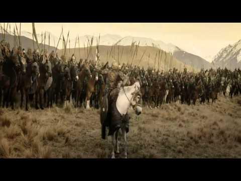 Carga de los Rohirrim en los campos de Pelennor - Español castellano