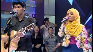 Fatin Shidqia feat The Overtunes - 'Kaulah Kamuku' - dahSyat 14 Mei 2014