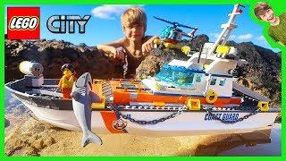 Video Lego City Coast Guard Shark Attack! MP3, 3GP, MP4, WEBM, AVI, FLV Februari 2019