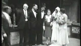 Elsie and Cal Wedding 1930