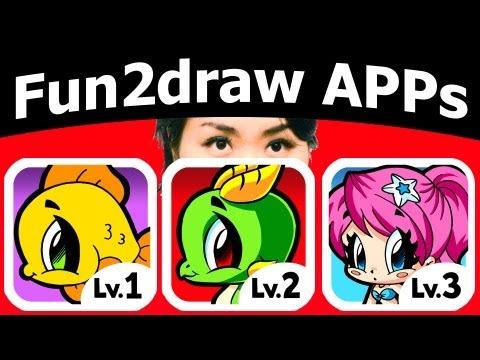 See Mei Yu + Fun2draw APPs + Cute Drawing Tutorial