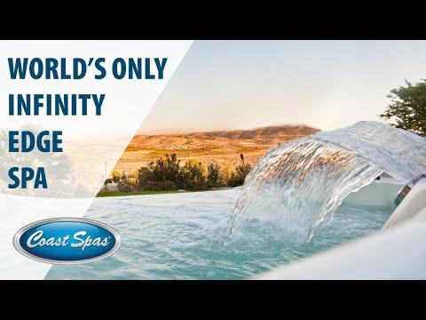 Infinity Edge Hot Tubs - Coast Spas