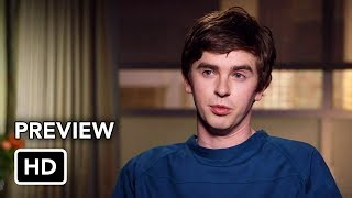 """Shaun Murphy (Freddie Highmore, """"Bates Motel""""), a young surgeon with autism and savant syndrome, relocates from a quiet..."""