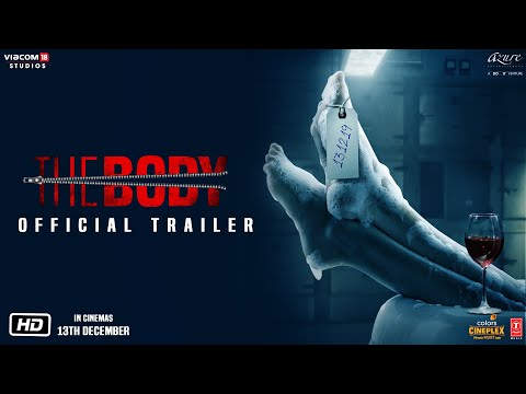 The Body   Official Trailer   Rishi Kapoor, Emraan Hashmi, Sobhita Dhulipala, Vedhika   13th Dec