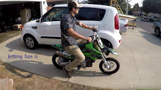 10. KLX110 IS INSANE!!!!