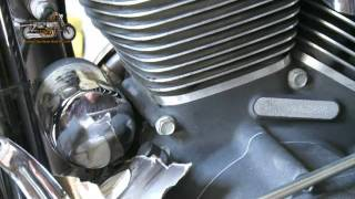 9. Harley Davidson Oil and Filter Change