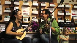 Mike Marshall and Caterina Lichtenberg at Down Home Music, Part 2