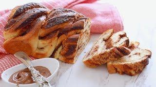Crazy Dough Braided Nutella Bread - Gemma's Crazy Dough Bread Series Ep 4 by Gemma's Bigger Bolder Baking