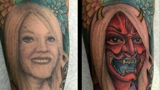 Video Woman: My Ex-Husband Turned Tattoo of Me Into a Horned Demon MP3, 3GP, MP4, WEBM, AVI, FLV Agustus 2018
