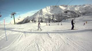 La Thuile Italy  City new picture : Christmas 2012 La Thuile Italy Aosta valley part1 skiing