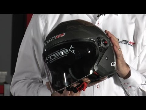 LS2 OF569 Open Face Helmet - Available at J&P Cycles