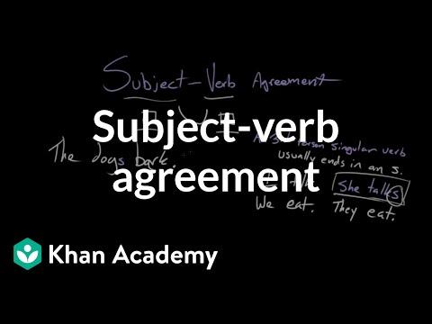 Subject verb agreement video khan academy ibookread Read Online