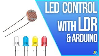 Arduino Tutorial - LDR with LED