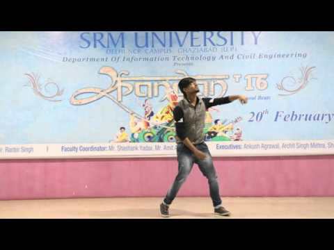 SRM UNIVERSITY ||NCR CAMPUS ||SPANDAN ||Main Hoon Hero Tera | Solo Dance