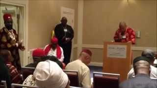 Director Nnamdi Kanu's Speech at 2015 World Igbo Convention in Los Angeles
