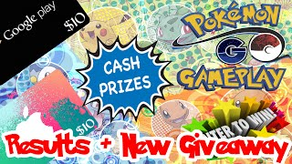 Pokemon Go Giveaway Results + New Giveaway by Pokémon GO Gameplay