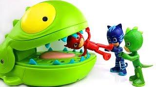 PJ Masks , Paw Patrol , Peppa Pig , Oddbods With Crocodile Toys Learn Colors