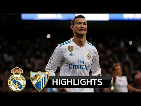 Real Madrid vs Malaga 3 2 ★All Goals & Highlights HD
