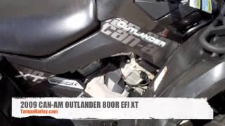 8. 2009 CAN-AM OUTLANDER 800R XT EFI