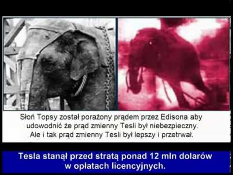 Nikola Tesla przeciwko iluminatom [PL]