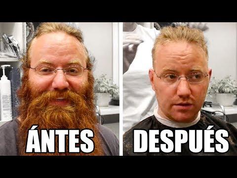 3 años de barba