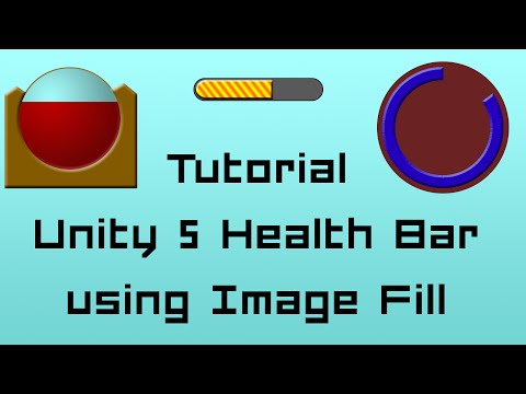 Health Bars Unity Unity 5 Tutorial Easy Health