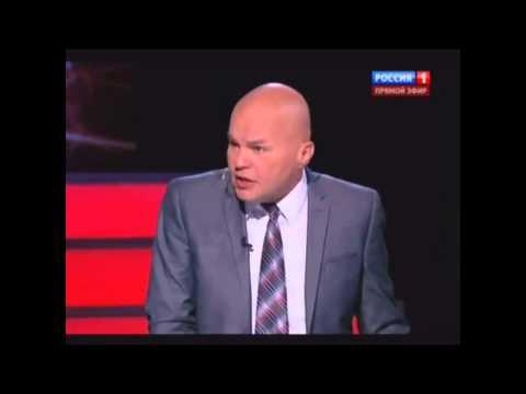 Ковтун получил по лицу в передаче Соловьева (видео)