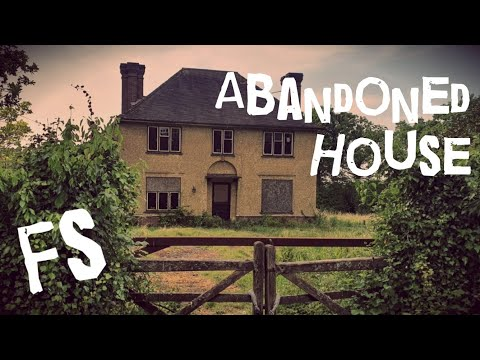 #UrbexUK - Abandoned House - Horsham, Sussex. видео