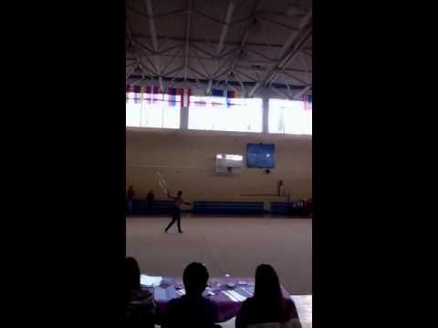 Lera Konstantinova hoop 2012 (видео)