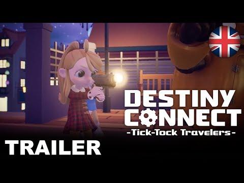Destiny Connect: Tick-Tock Travelers - Adventure of a Timeline (PS4, Nintendo Switch) (EU - Eng de Destiny Connect
