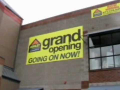 Sign Spinner Ashleys Furniture Tacoma Washington Grand Opening