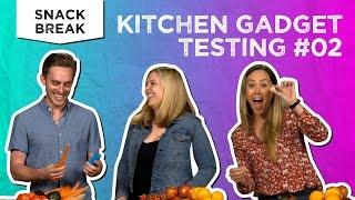 Kitchen Gadget Testing #2   Snack Break - Tastemade Staff by Tastemade