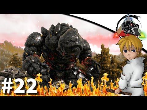 [Mods] ARK : Extinction Core - #22 Golem de Lave ! (видео)