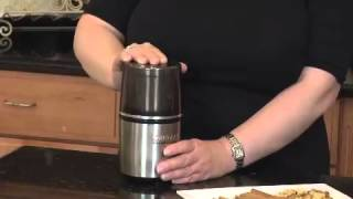 Spice and Nut Grinder Demo Video Icon